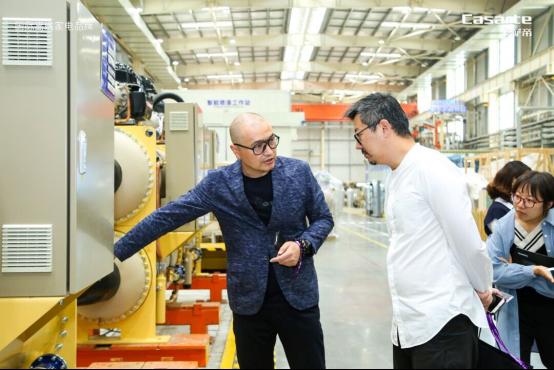 卡萨帝中央空调行业首条智能柔性生产线今日投产-焦点中国网