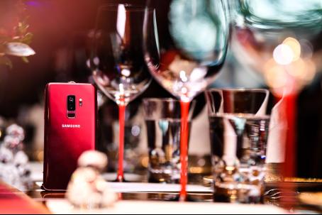 618当红手机 三星Galaxy S9|S9+勃艮第红携多重优惠好礼来袭